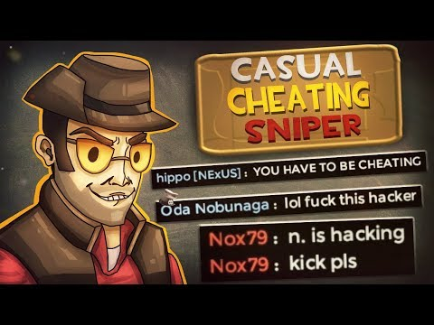 "TF2 Casual ""Cheating"" Sniper"