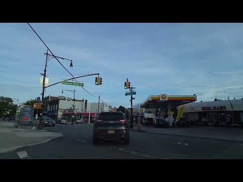 Driving from Middle Village on Queens to Brownsville in Brooklyn,New York