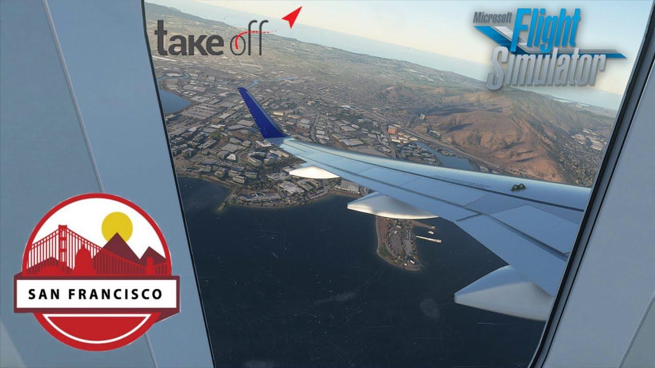 Microsoft Flight Simulator 2020 - Amazing Take Off San ...