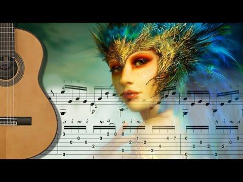 MANHA DE CARNAVAL - Fingerstyle Arpeggio Guitar
