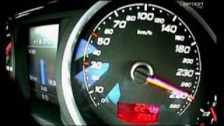 290 km/h en Audi RS6 (Option Auto)