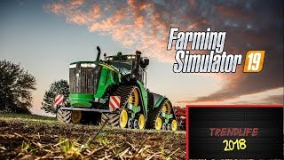 Farming Simulator 19 first gameplay deutsch hd 2018 HD build farm
