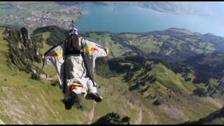 Wingsuit Gliding through the