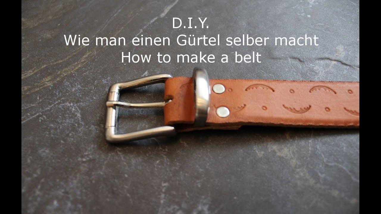 Klettergurt Selber Machen : Gürtel selber machen belt making diy helmchen youtube