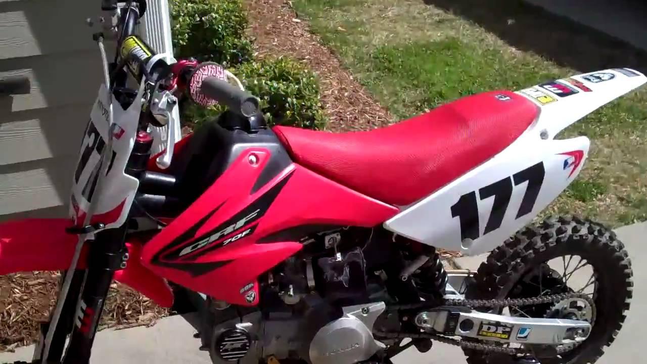 Honda Crf 70 Full Mod   Idle