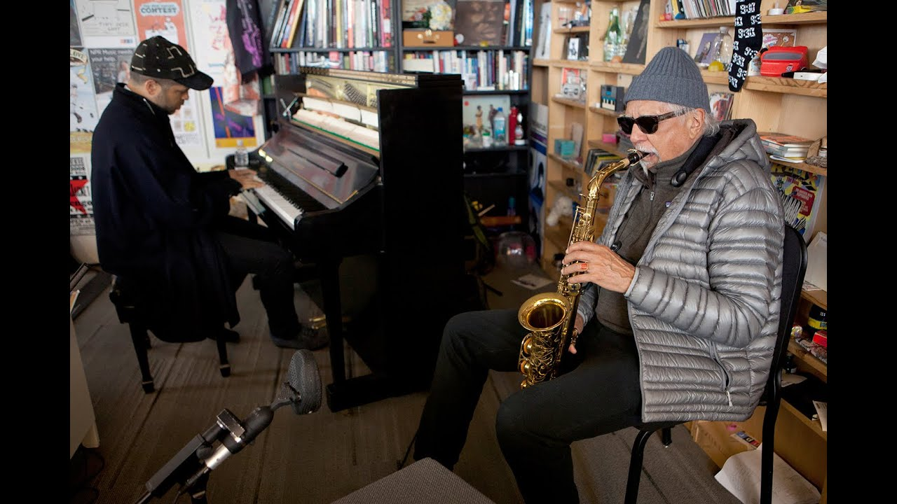 Charles Lloyd & Jason Moran | NPR Music Tiny Desk Concert
