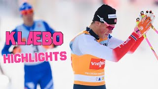 Johannes Høsflot Klæbo - Highlights [2016-2018]