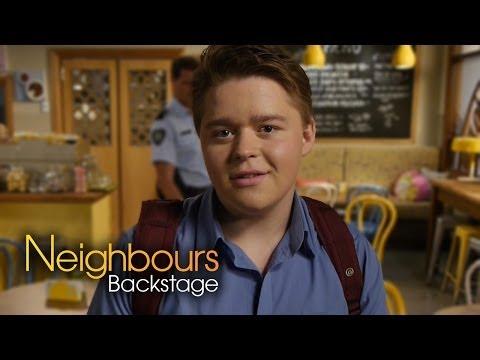 Farewell Morgan Baker Callum Part 2  Neighbours Backstage