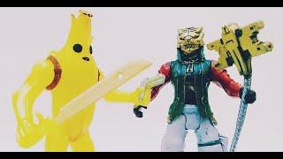Juguetes Fortnite Banana Skin y Master Key Bootleg Mexicano