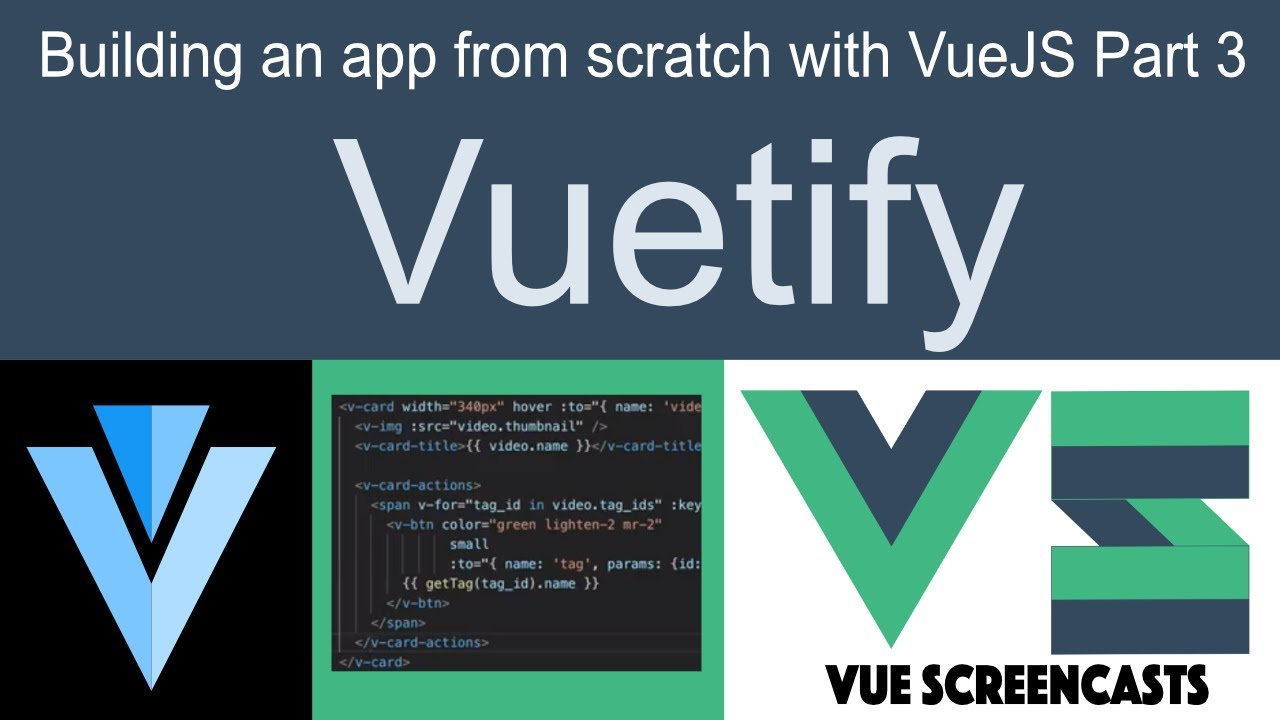 Vuetify: Make a VueJS app look good, even if you're bad at design