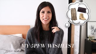 MY 5PFW WISHLIST - What I'm planning to add to my wardrobe for autumn/winter | Mademoiselle
