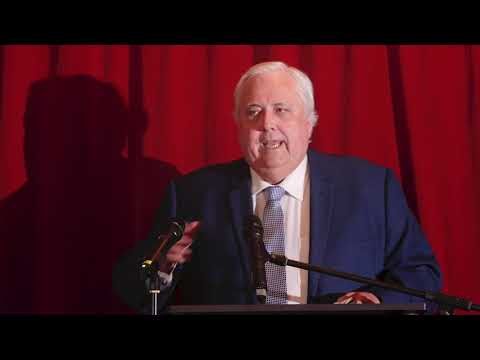 Clive Palmer tells it as it is: Politics, Government, Titanic II & Townsville