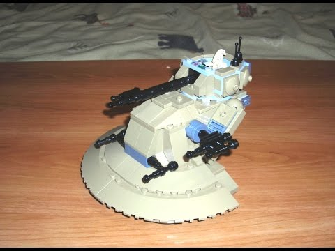 Lets Build Droid Tank Aat Lego Star Wars Moc Youtube