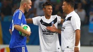 Ronaldo All Touches vs Zidane Friends 19/12/2012