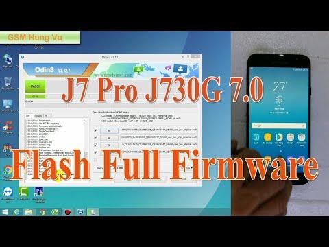 Samsung J7 Pro (J730G) Flash Full File Firmware 7 0 by Odin 3 12 7