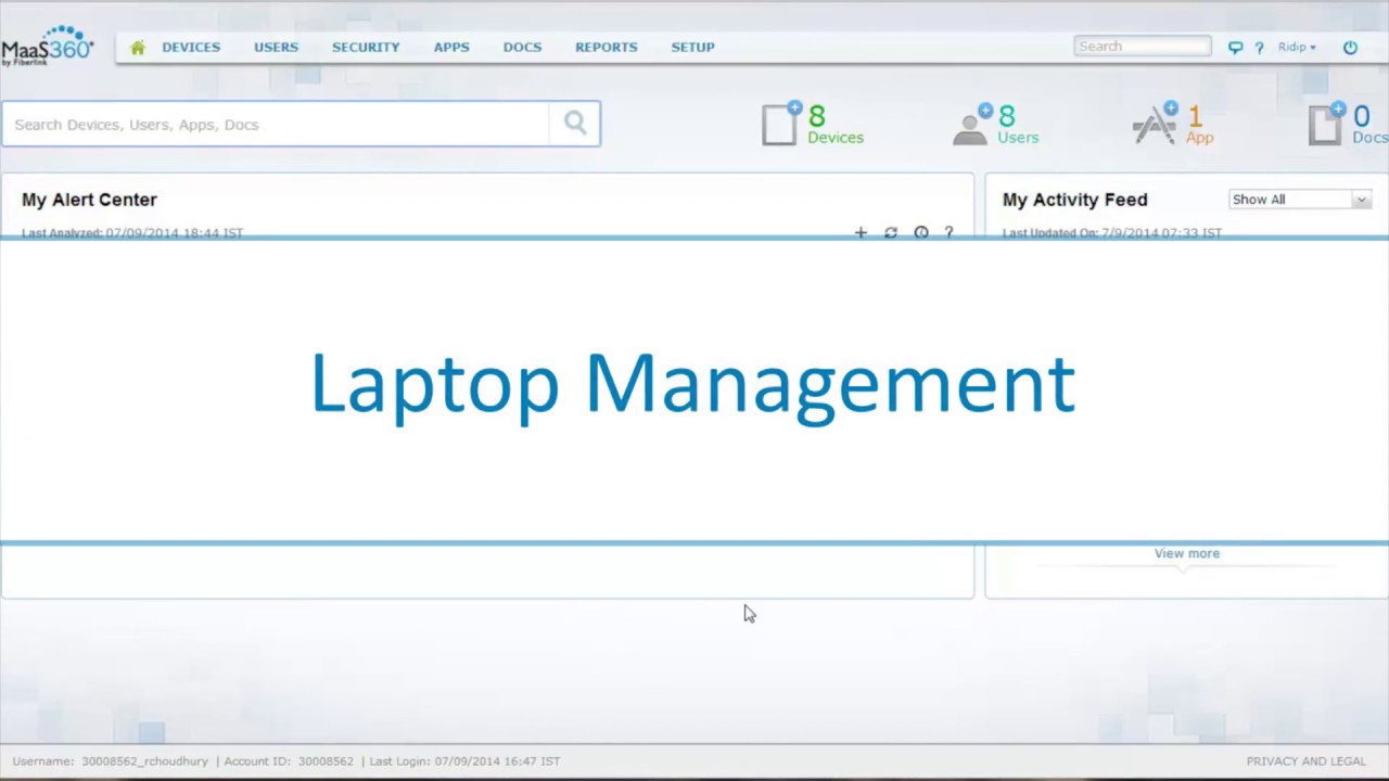 Management for macOS and Windows PCs with IBM MaaS360 with Watson