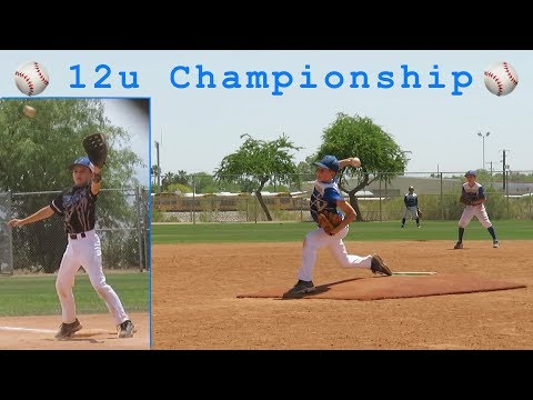 11u Baseball Team Plays for 12u Championship