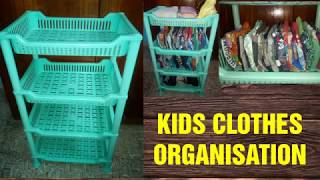 Kids clothes organisation    How I organize my son