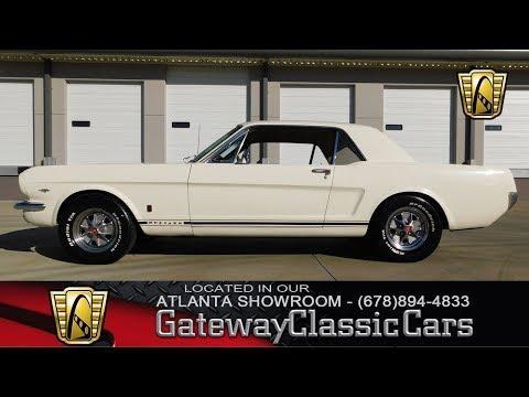 1965 Ford Mustang GT - Gateway Classic Cars of Atlanta #582