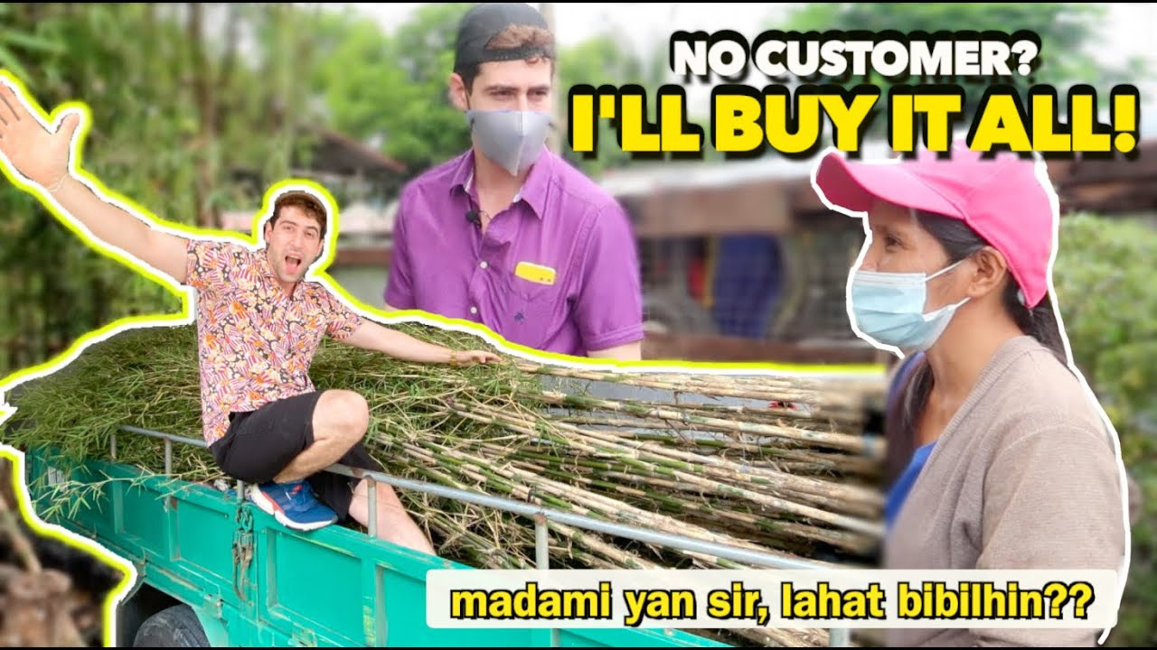 BUYING ALL Vendor's Plants During Typhoon! 🇵🇭