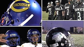 Crenshaw vs Hawkins : HSFB California  - UTR Highlight Mix 2015