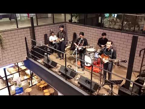 The Beatles Tribute Band - Girl Live at ÆON Mall Jakarta Garden City, Gourmet Terrace, Jakarta