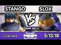 Pound Underground - SS | Stango (Marth) Vs. Slox (Sheik) - Smash Melee Losers Top 12