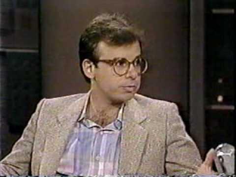 Rick Moranis @ David Letterman 2, SCTV, 1989