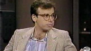 Rick Moranis @ David Letterman #2, SCTV, 1989