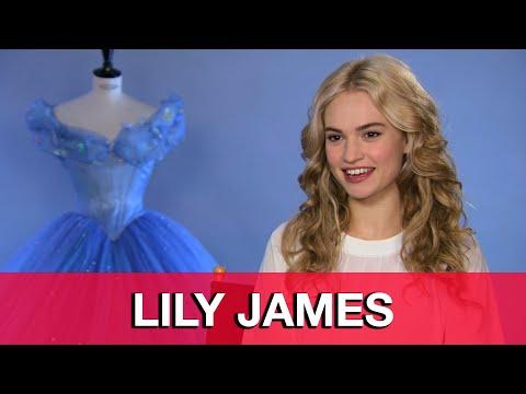 Lily James Cinderella Interview
