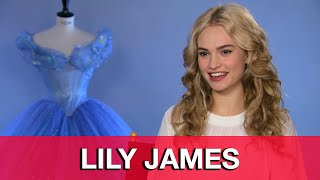 Lily James Cinderella Interview