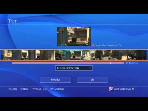 How to Trim Video And Upload to Facebook With the PS4