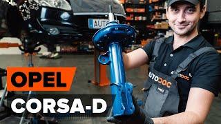 Montering Väghållning OPEL CORSA D: gratis video