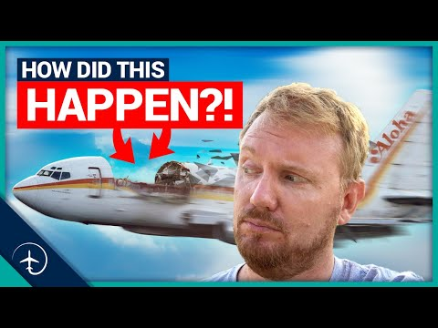 How This Boeing 737 Lost It's ROOF!   Aloha Airlines Flight 243