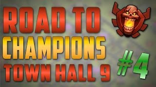 Clash of Clans - Road To Champions Town Hall 9 - Episode #4 - Farming in Crystal