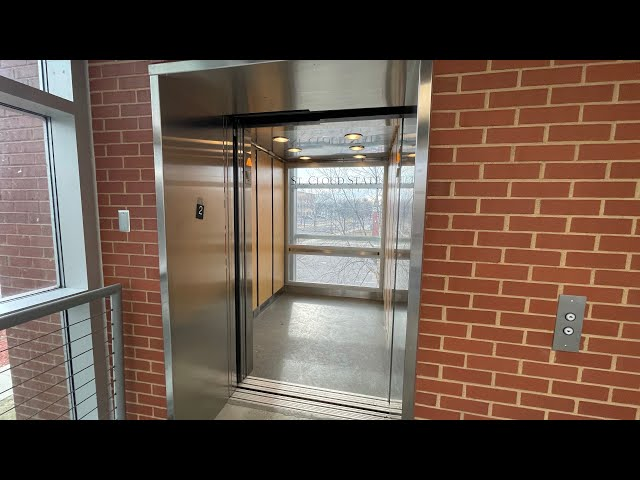 Cool Scenic ThyssenKrupp Hydraulic Elevator @ The 4th Avenue Parking Ramp - SCSU in St. Cloud, MN
