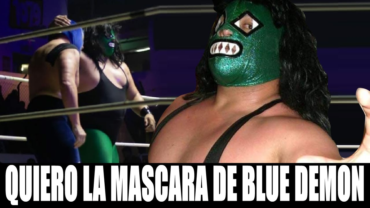Seria Doloroso Perder La Mascara ''Hijo Del Espectro jr''