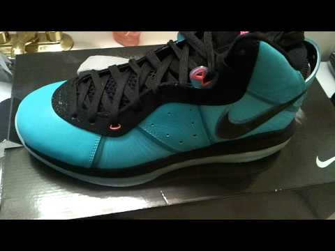 Unboxing & Review of Nike Lebron 8 South Beach