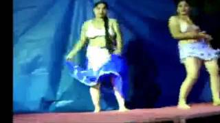 Record dance in andhra pradesh without dress girl in blue is super local