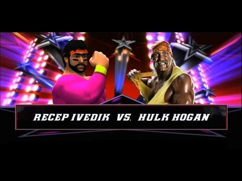 wwe 2k14 recep ivedik vs hulk hogan