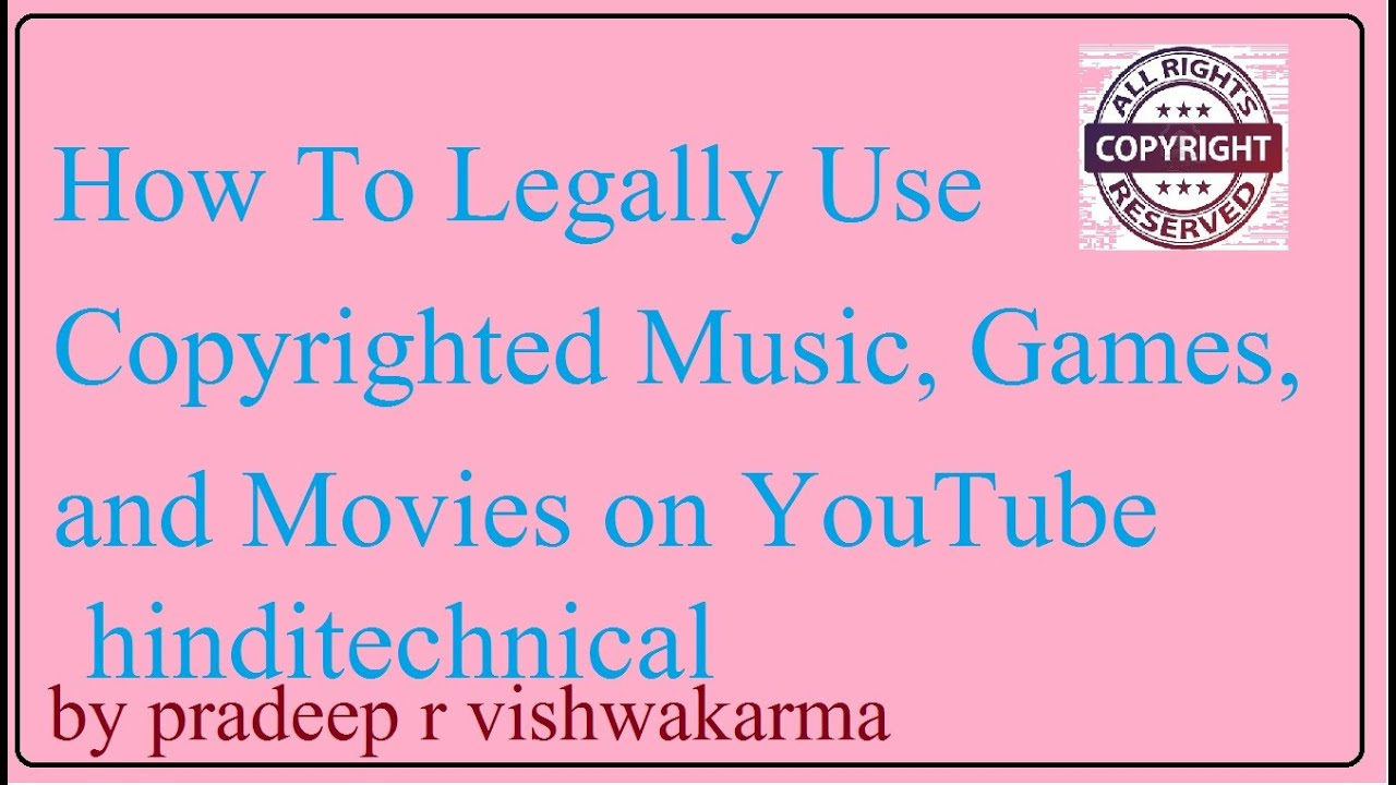 [hindi]how To Download Copyright Music On Youtube (youtube Audio Library)