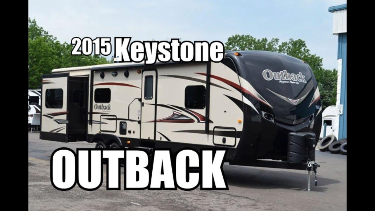 2015 Keystone Outback 298re Travel Trailer Youtube