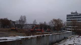 Стройка нового детского сада