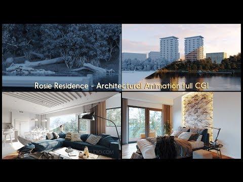 Rosie Residence - Architectural Animation full CGI [2K - 1440P]