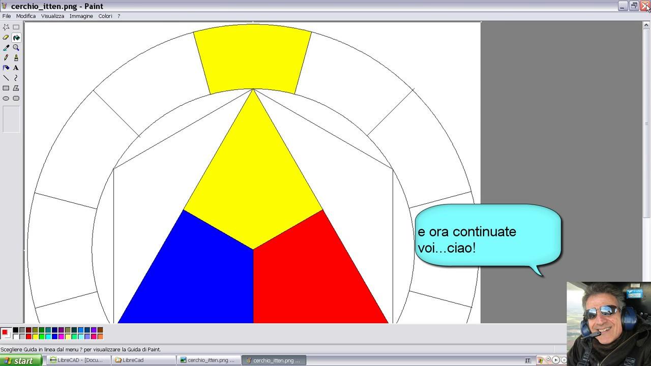 Come disegnare il cerchio cromatico di Itten | Viva la Scuola