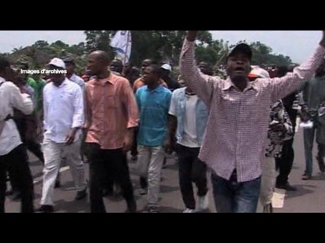 Rd congo, Violents heurts entre manifestants et policiers