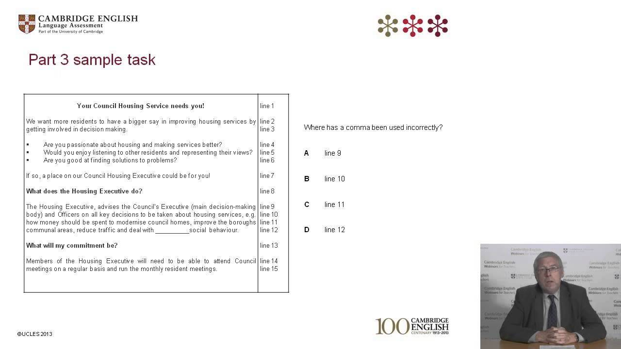 Oxford Exam Skills Paper 1 Answer