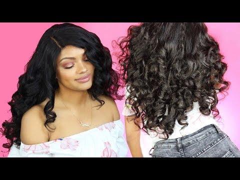 Heatless Curls Using Flexirods ft Nguvu Hair   Jazzie Jae T