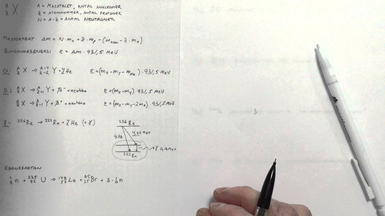 Fysik 1 Kärnan