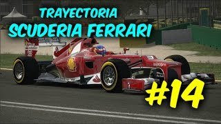 F1 2013 - Trayectoria (Ferrari) - 14º Carrera - Korea International Circuit (1080p)